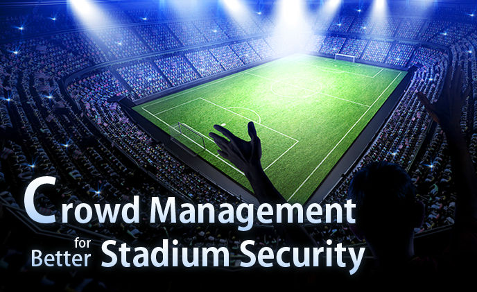 Crowd management for better stadium security