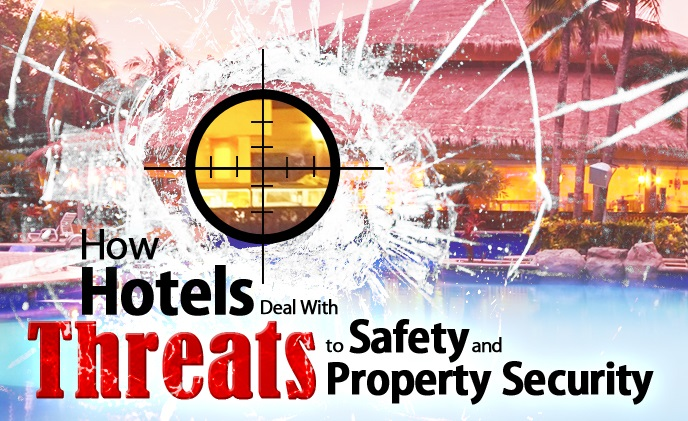 How hotels deal with threats to safety and property security