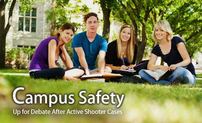 Campus safety up for debate after active shooter cases