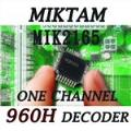 MIKTAM 1 Channel 960H Video Decoders-MIK2165