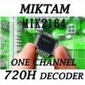 MIKTAM 1 Channel 720H Video Decoders-MIK2164