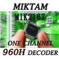 MIKTAM 1 Channel 960H Video Decoders-MIK2167