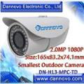 DANNOVO MiNi HD 2 Megapixel IP Camera 1080P IR Waterproof Low illumination,ONVIF(DN-H13-MPC-TD)