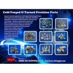Special Fasteners - Cold forged & Turned parts made in Taiwan