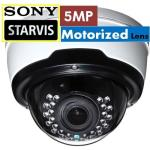 H.265 5MP IK10 STARVIS IP CAMERA