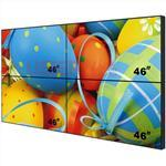 2x2 46 inch 6.7mm lcd video wall 450nits/700nits with Samsung new original panel