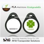RFID PLA Tear Shape Keyfob