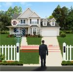 Driveway Intrusion Alert Security System Solar Beams Detection