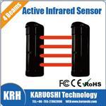 Photoelectric Beam detector, Outdoor quad beam active infrared barrier