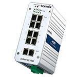 JetNet 3810G Industrial 8 PoE + 2 GbE Booster PoE Switch