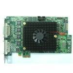 PCI-E X1 H.264/MJPEG 16 Ports Real Time Audio/Video DVR Card