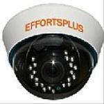 3-Axis Plastic Dome Camera, 1/3