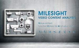 Milesight video content analysis debuts to enhance the camera functions
