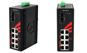 Antaira releases LNP-1002G-10G-SFP-24 industrial Gigabit 10-Port PoE+ unmanaged switch
