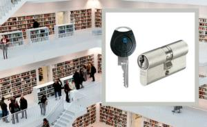 ASSA ABLOY supplies security technology for new central library in Stuttgart