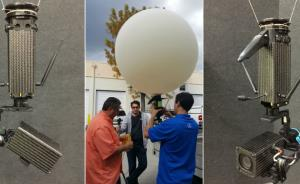 Providing aerial surveillance from tactical-grade balloons