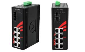 Antaira launches LNP-1002G-10G-SFP Gigabit 10-ort PoE+ unmanaged switch