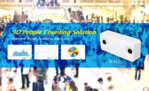 VIVOTEK launches 3D people counting solution for retail operations