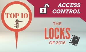 Top 10 access control locks of 2016