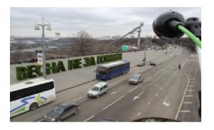 Smart FLIR traffic sensors help alleviate city congestion in Moscow, Russia