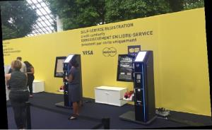Evolis simplifies entry to trade fairs with self-service terminals