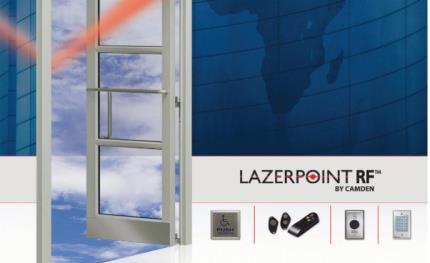 Camden Door Controls expands Lazerpoint RF