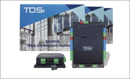 TDSi launches new GARDiS cyber secure and web embedded access controller