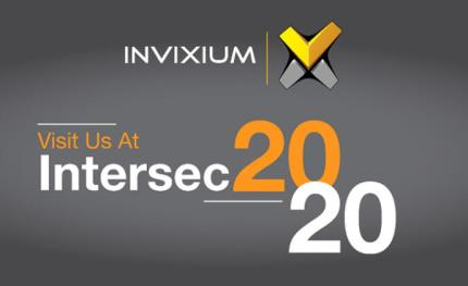 Invixium showcases biometrics innovations at Intersec 2020