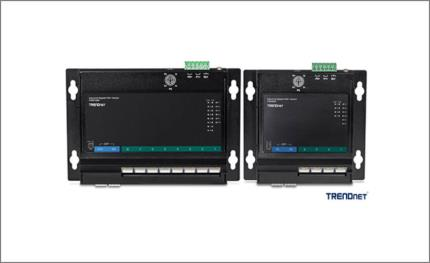 TRENDnet continues to grow its line of rugged Industrial Front Access Switches