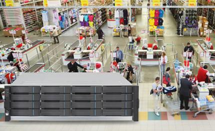 Surveon NVR7800 protects the multinational hypermarkets in South America