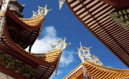 Dahua Technology provides temple with end-to-end surveillance