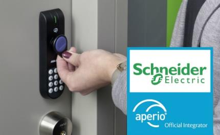 Schneider Electric's Esmi access control system gets a wireless upgrade with Aperio locks