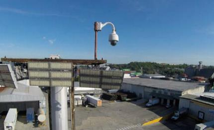 Marine shipping specialist guards cargo with Sony network cameras