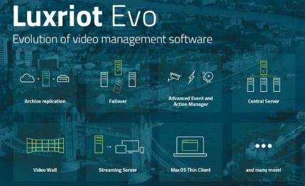 Luxriot Evo set to be launched at IFSEC