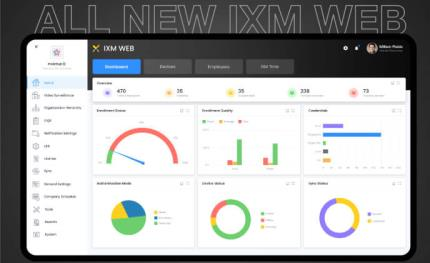 Invixium launches IXM WEB 2.1, an all-in-one management software platform