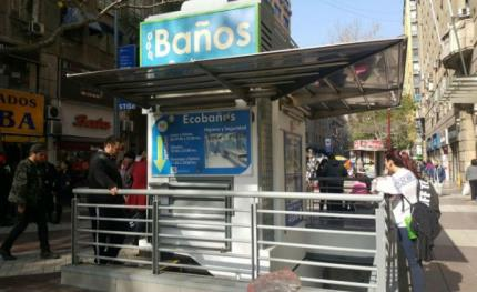 Boon Edam's entry system installed at Eco Baños in Chile's capital city