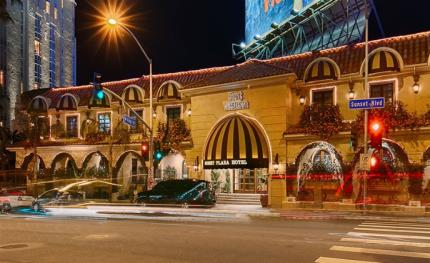 Hikvision provides surveillance to Hollywood's Sunset Plaza Hotel
