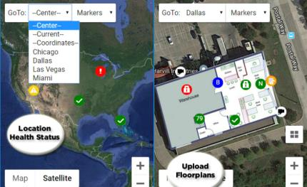 Connected Technologies' GeoView to remotely monitor multiple sites