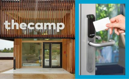 Real-time access management makes Aperio and The Camp a perfect fit