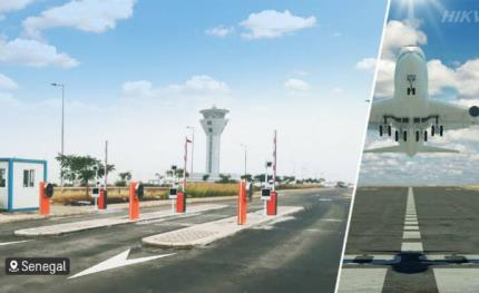 Hikvision secures Senegal's airport with smart parking solution