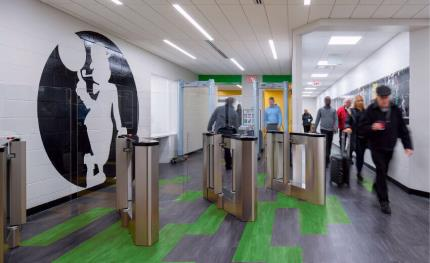 Aeroturn provides high performance turnstiles to the Biopharma company