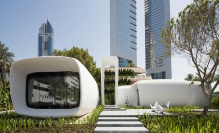 Siemens technology controls world's first 3D printed office building