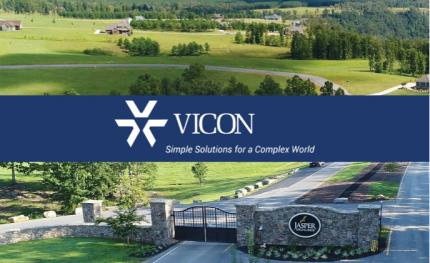 Vicon delivers surveillance to 9000 Acre Tennessee Mountaintop Community
