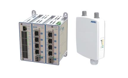 AMG latest industrial switches features 90W PoE capability