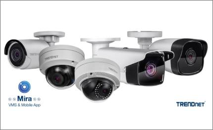 TRENDnet introduces Mira, free surveillance camera VMS with mobile app