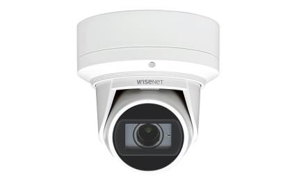 Wisenet Q Flateye IR dome cameras introduced for humid environments