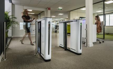 Boon Edam to introduce the Speedlane Compact optical turnstile at ISC West