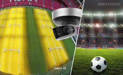 Hikvision cameras look to the future of football
