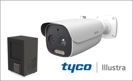 Tyco Illustra Pro 5MP Thermal EST Camera elevated skin temperature scanning solution