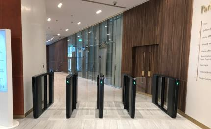 Park House at London's Finsbury Circus upgrades security with Boon Edam